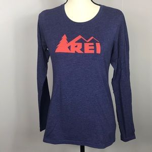 REI Purple Long Sleeve T Shirt Size S